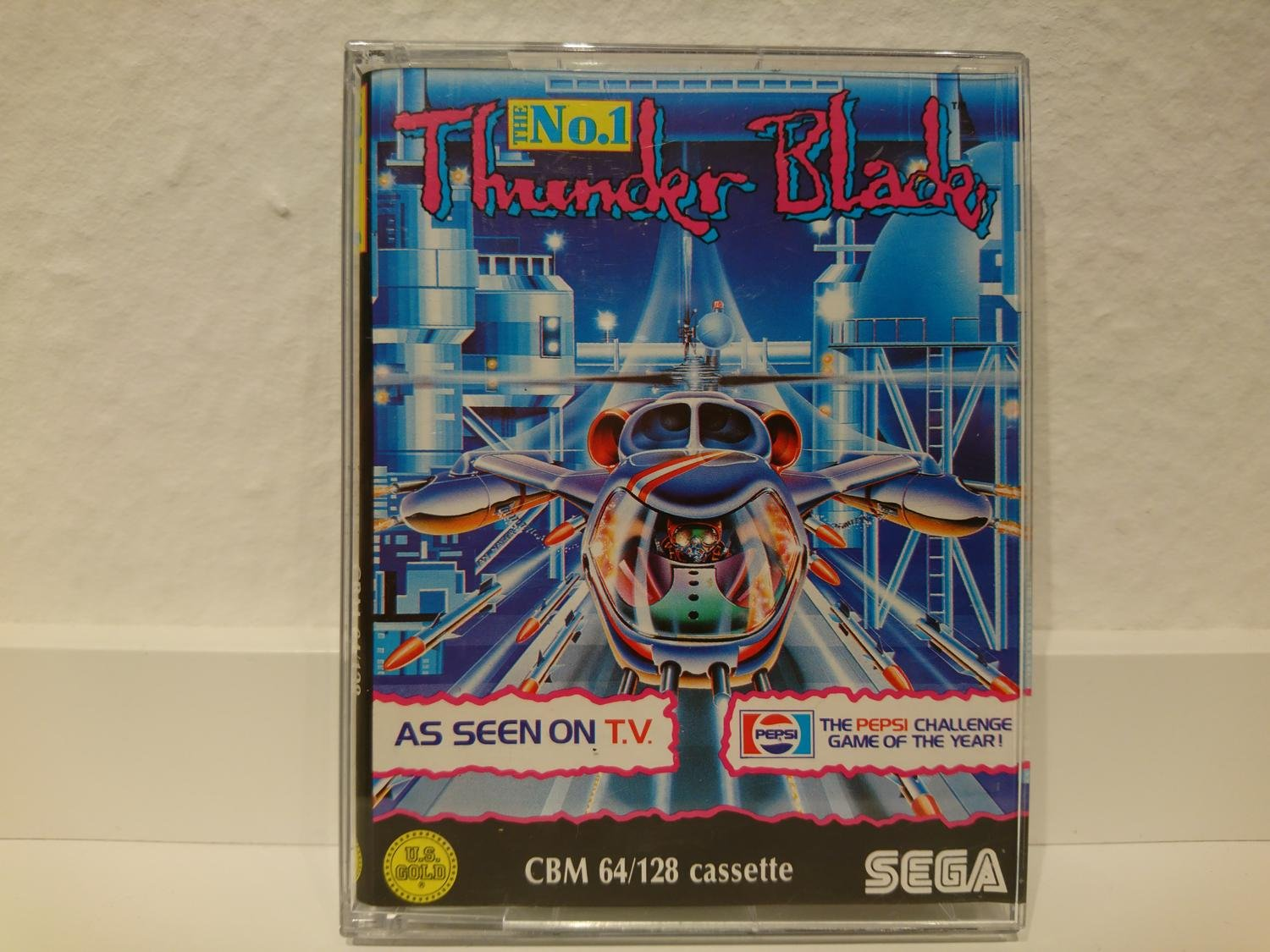 THUNDER BLADE till Commodore 64 / C64