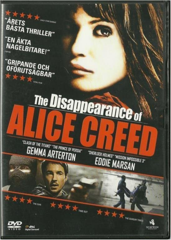 The disappearance of Alice Creed - Gemma Arterton - Exhyr