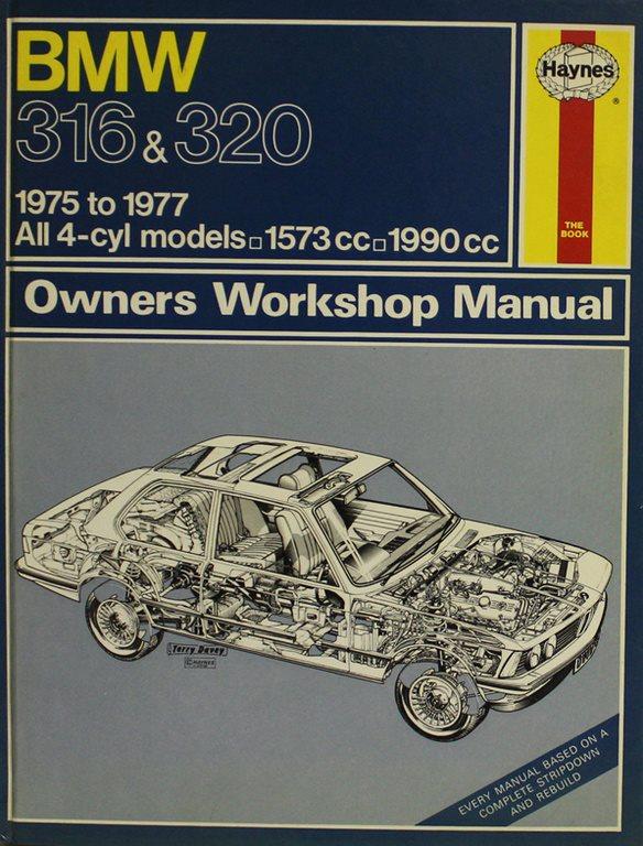 BMW 316 och 320 1975-1977 (Eng)