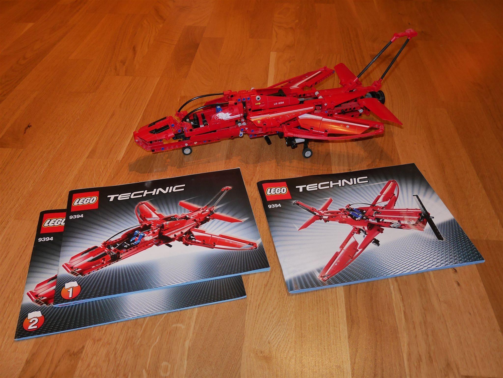 LEGO Technic 9394 Jetplan