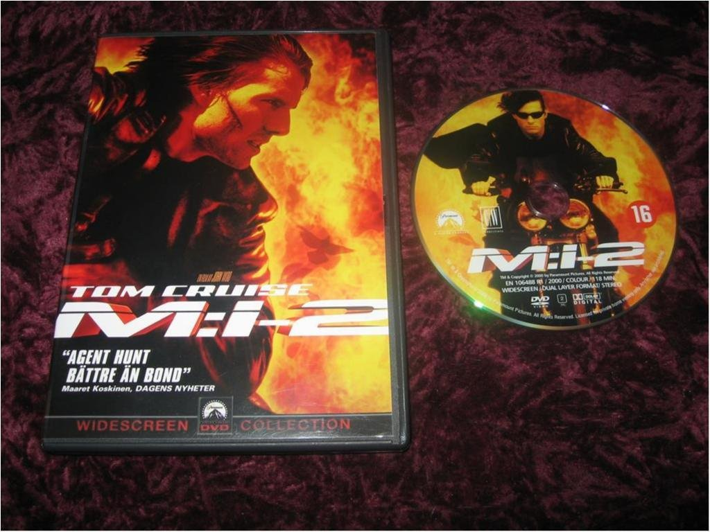 MISSION IMPOSSIBLE 2 (TOM CRUISE,DOUGRAY SCOTT)DVD REG2
