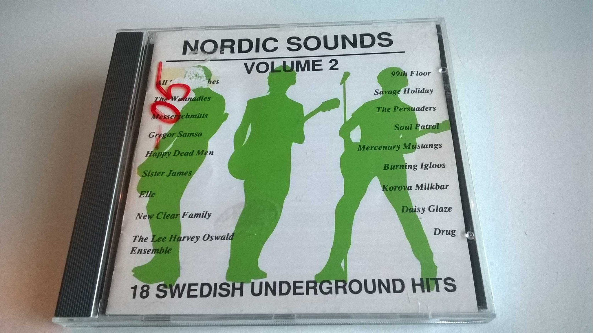 Nordic Sounds Volume 2, Swedish underground hits, CD, rare!