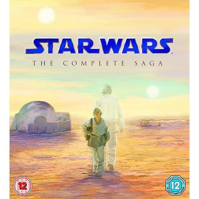 STAR WARS - The Complete Saga (Eps 1-6) - Limited Ed Blu-Ray