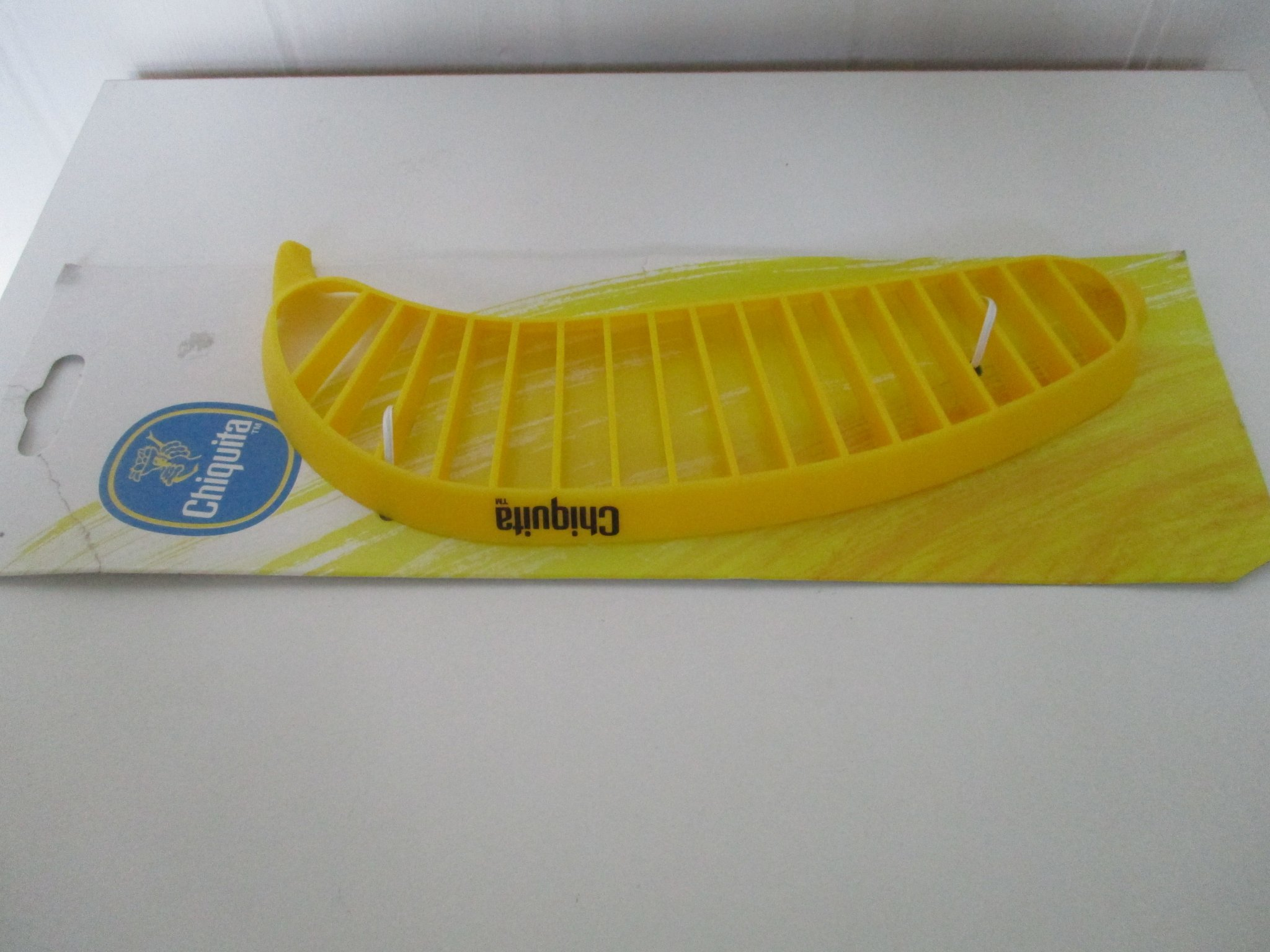 Reklamprylar bananskivare skiva banan Chiquita