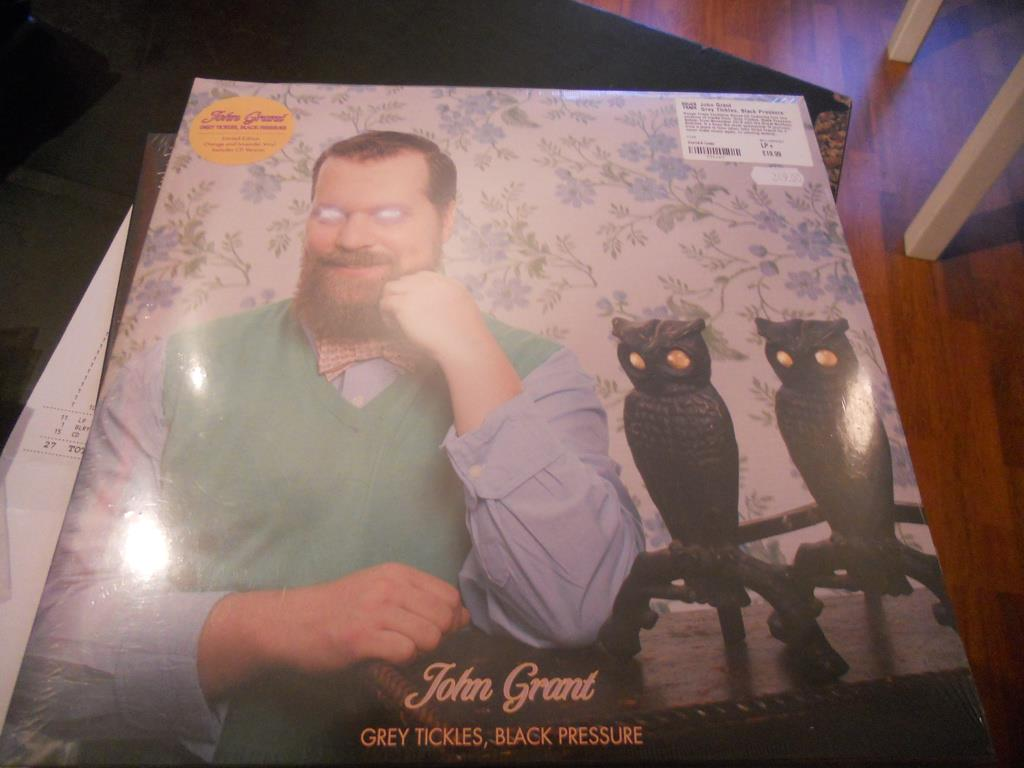 LP John Grant - Grey Tickles  ORANGE VINYL