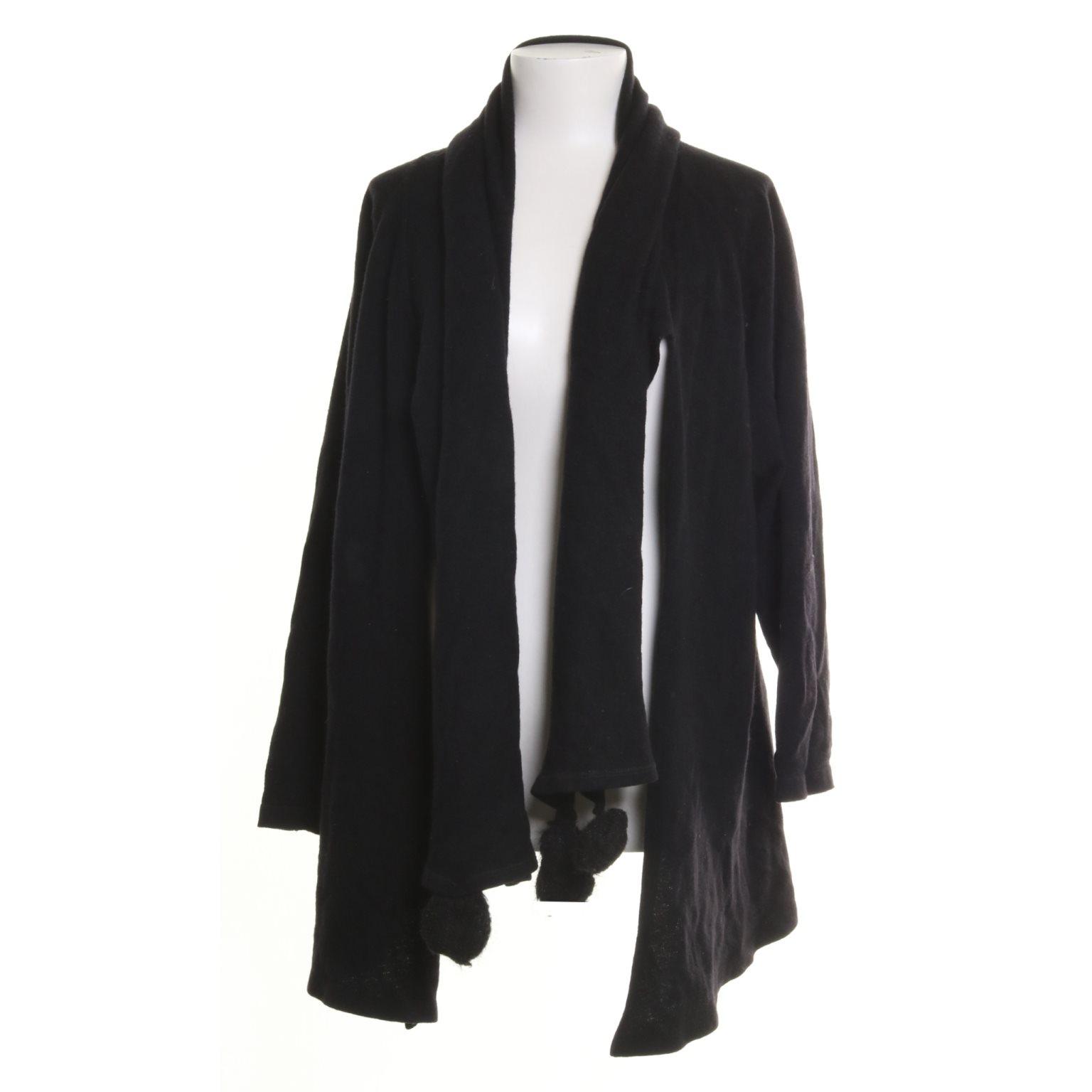 svart kofta ull