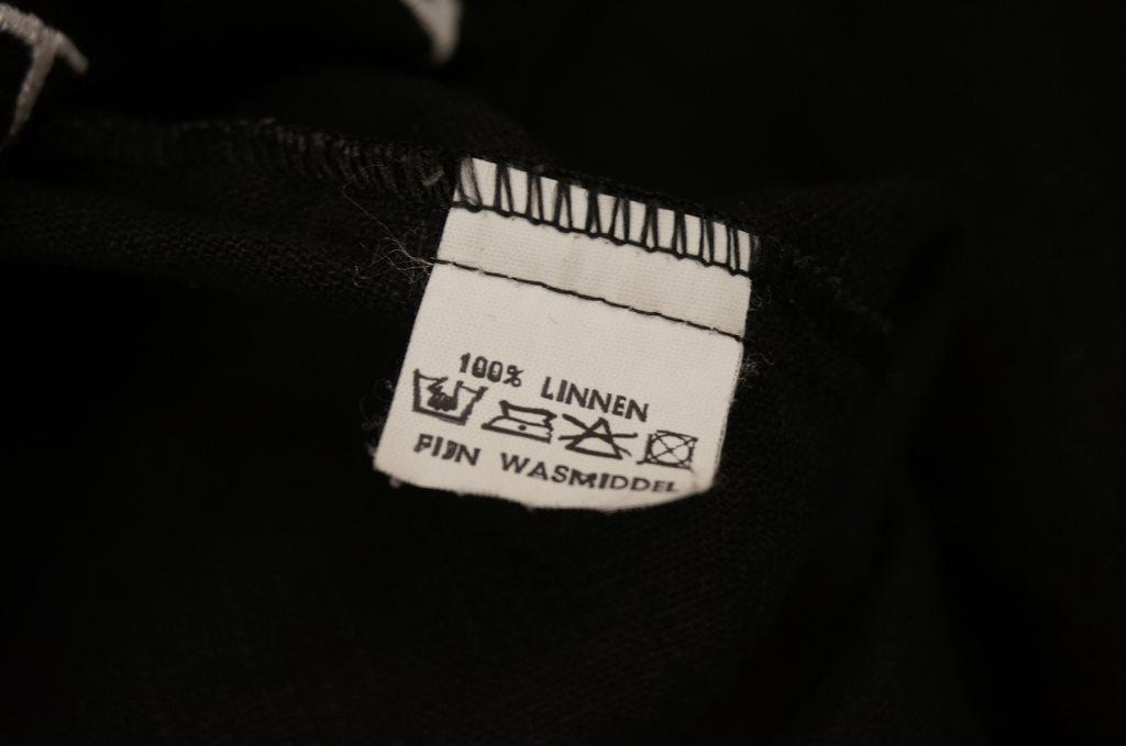 unik unik unik elegant design topp blus Pasja 2/3 ärm 100% lin 46 59adfa