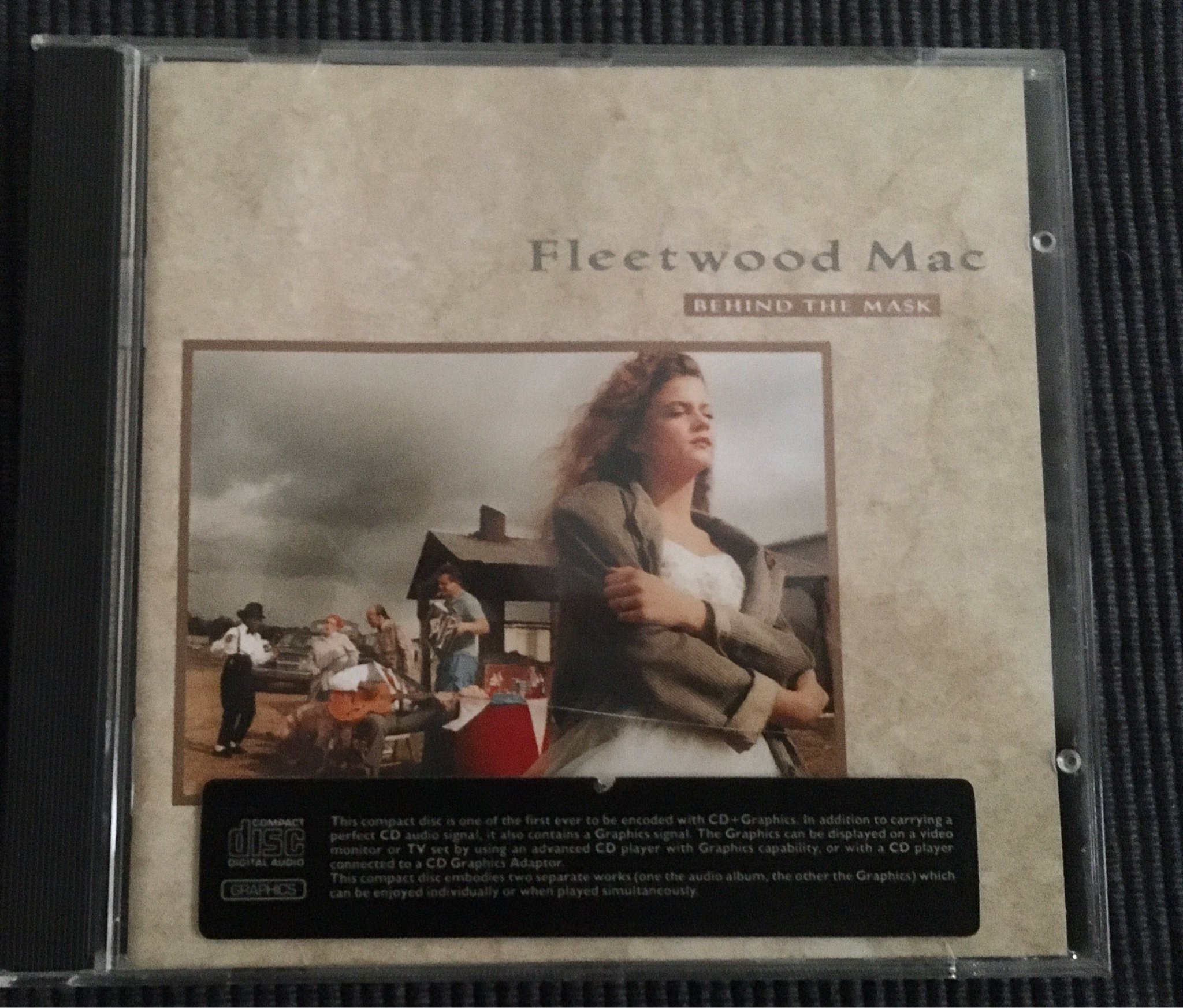CD FLEETWOOD MAC - BEHIND THE MASK