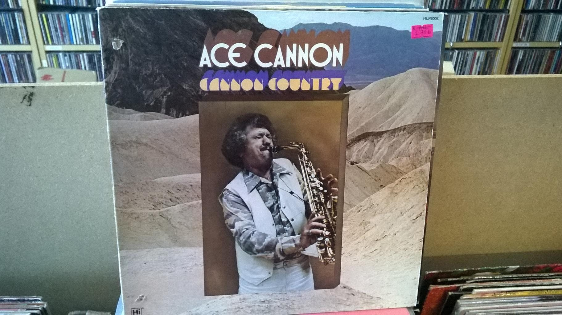Ace Cannon - Cannon Country