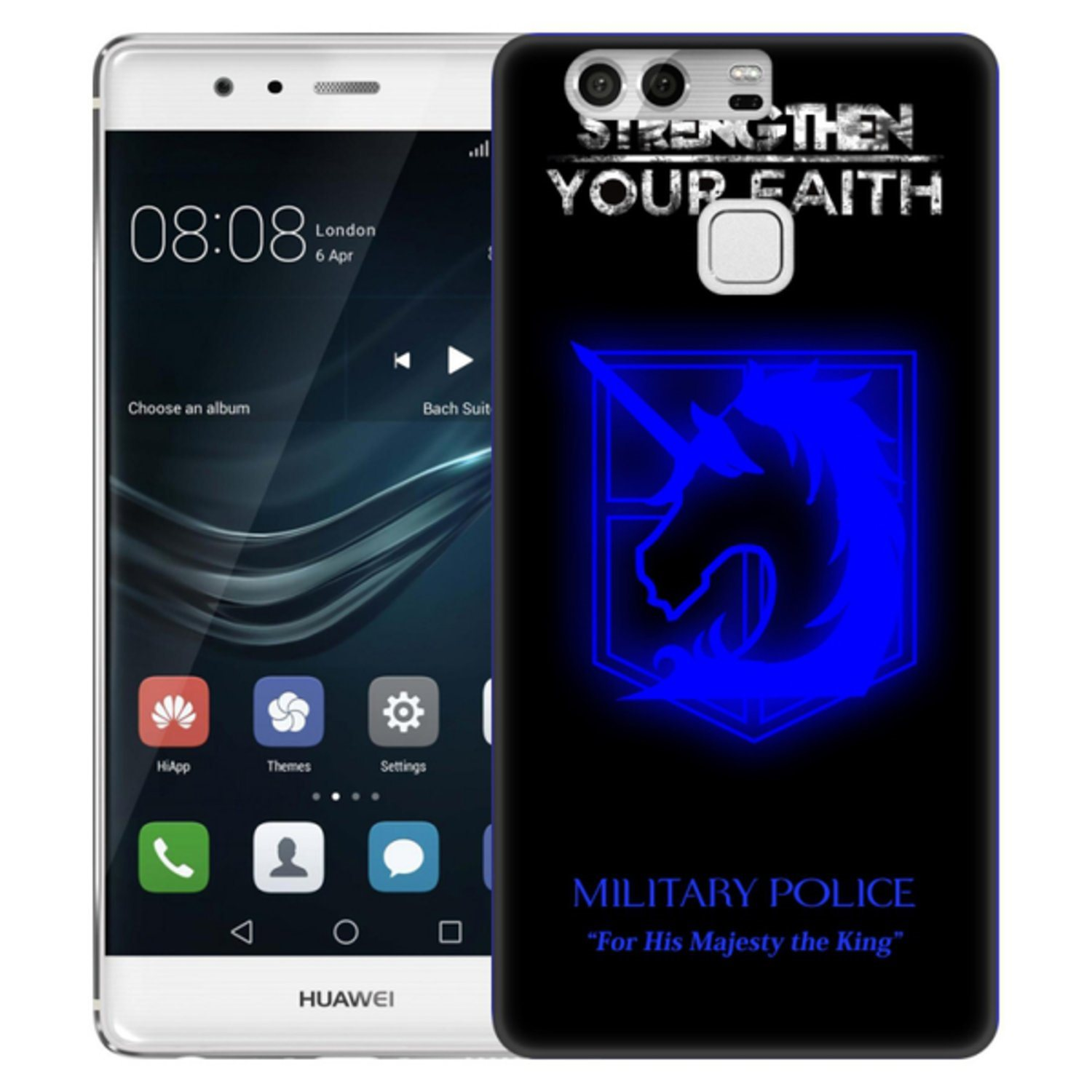 Huawei P9 Skal Military Police