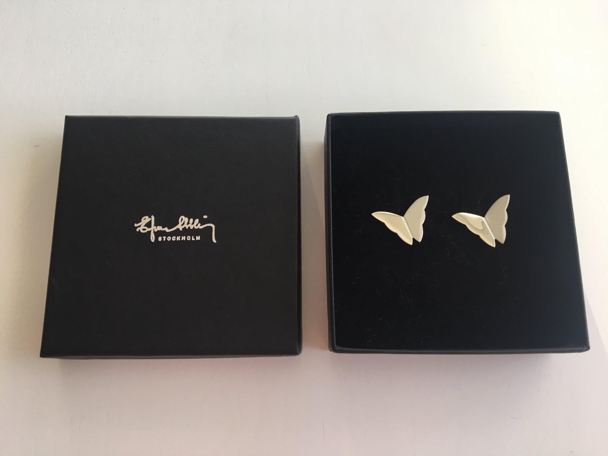 efva attling butterfly örhängen