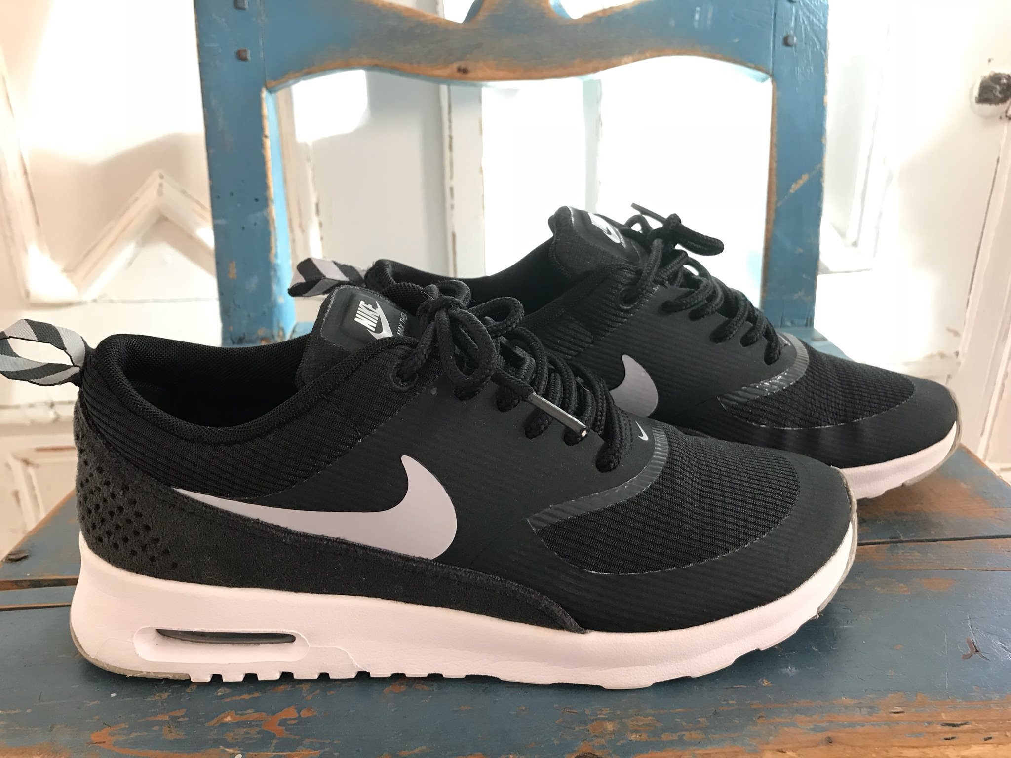 timeless design 27b97 8ffc1 ... czech nike air max strl 36 svart vita fb607 94303