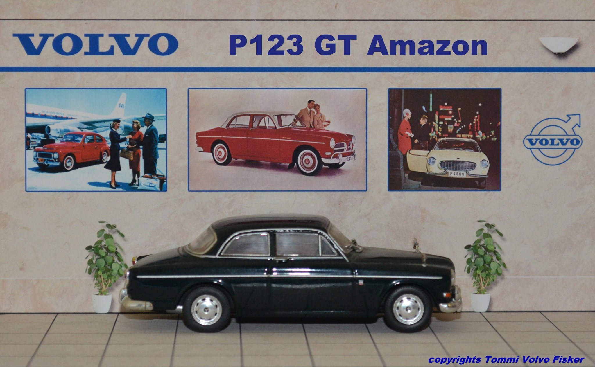 Atlas Volvo Collection Amazon 123 GT / 1:43