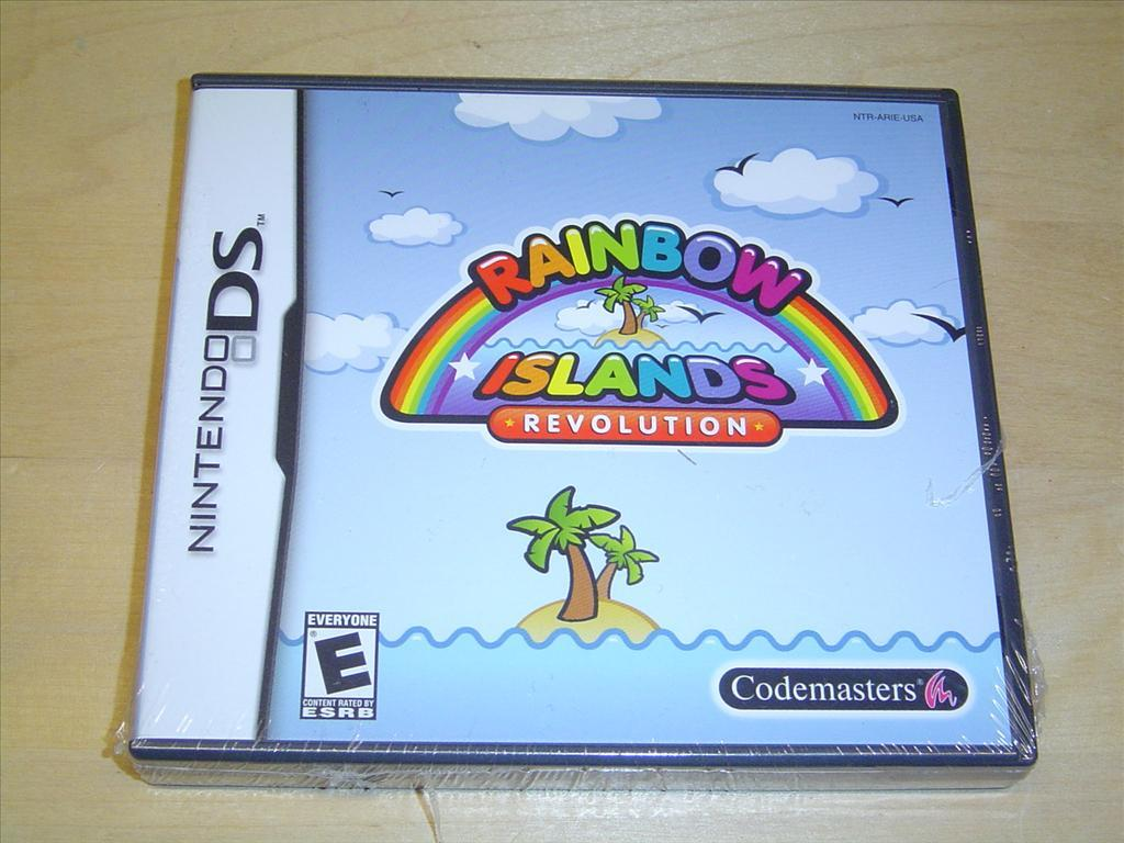 RAINBOW ISLANDS REVOLUTION NINTENDO DS *NYTT*
