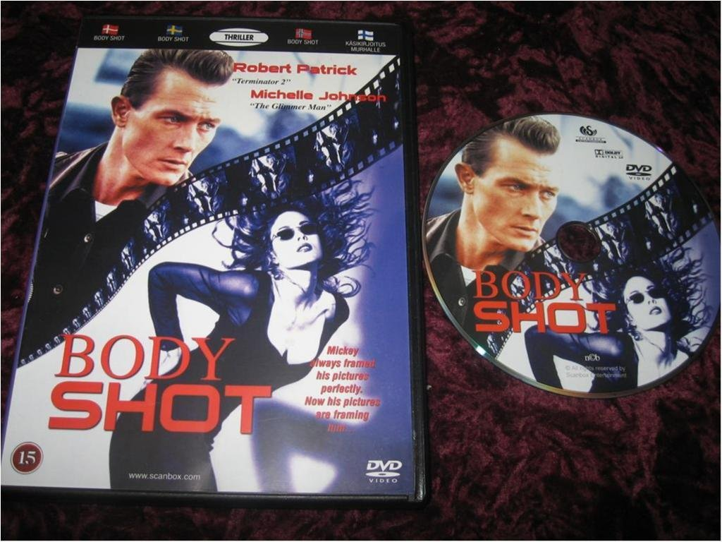 BODY SHOT (ROBERT PATRICK,MICHELLE JOHNSON)DVD REG2