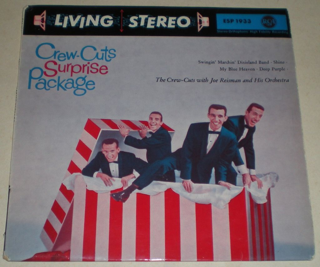Crew-Cuts OMSLAG EP Surprise Package 1959