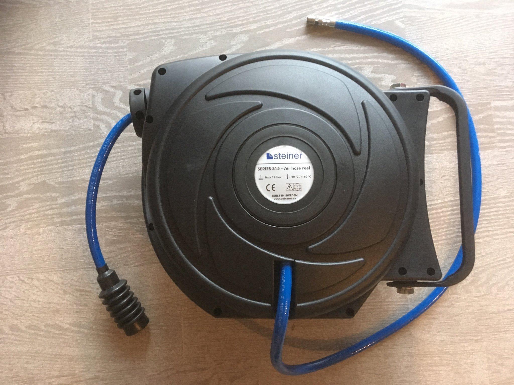 Välkända Steiner slangvinda för tryckluft ny (360901928) ᐈ Köp på Tradera LM-63