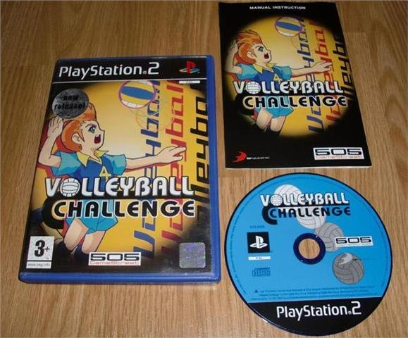 PS2: Volleyball Challenge ★