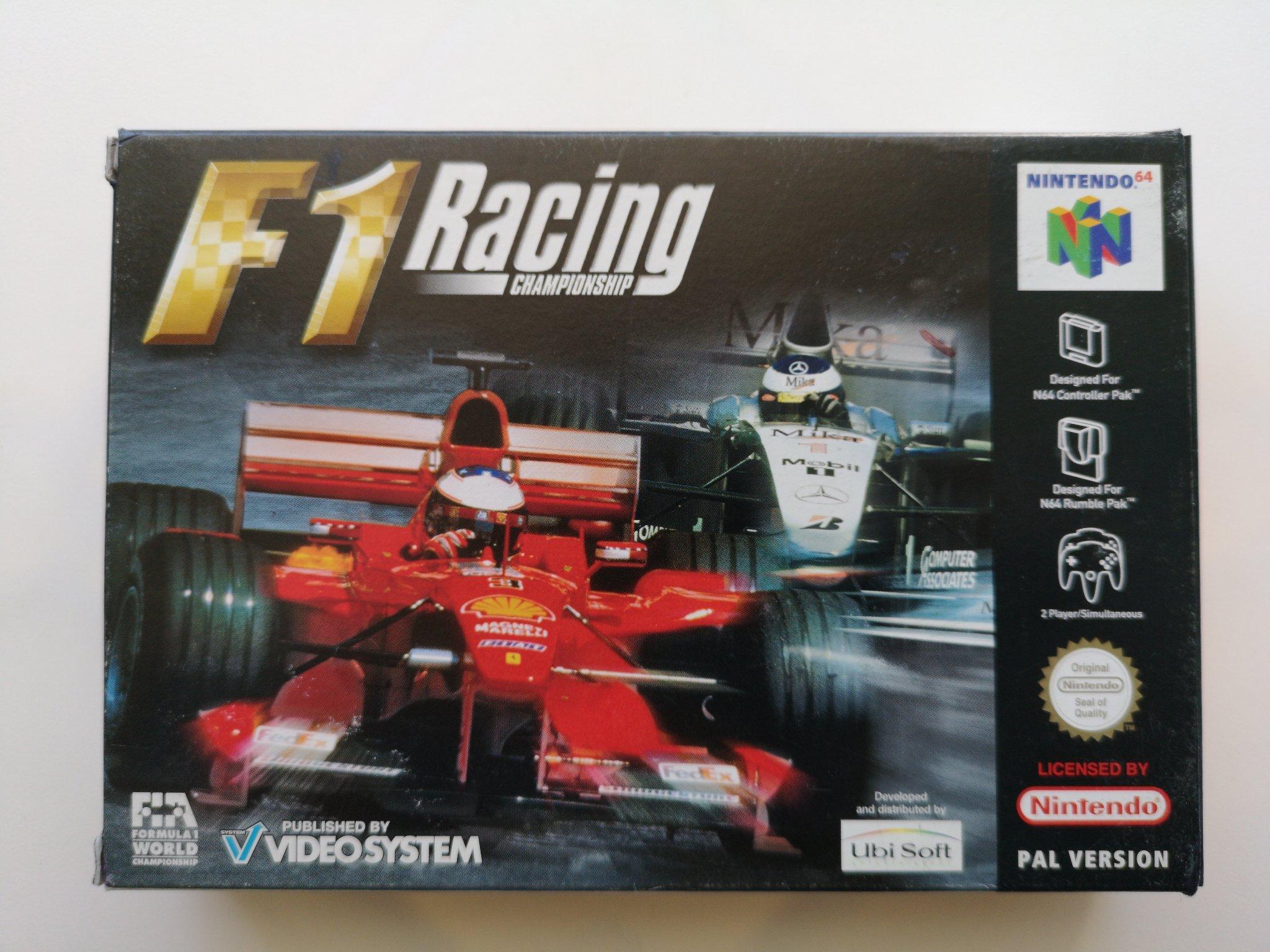F1 Racing Championship Till N64 Komplett I Fin 413272804 ᐈ Kop Pa Tradera