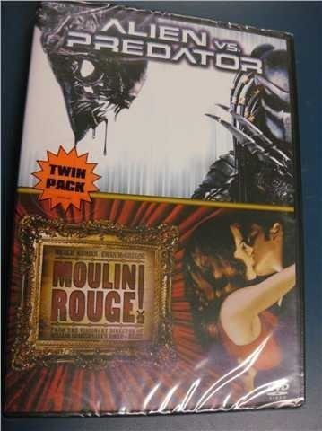 ALIEN VS PREDATOR - MOULIN ROUGE - TWIN PACK - NY, INPLASTAD