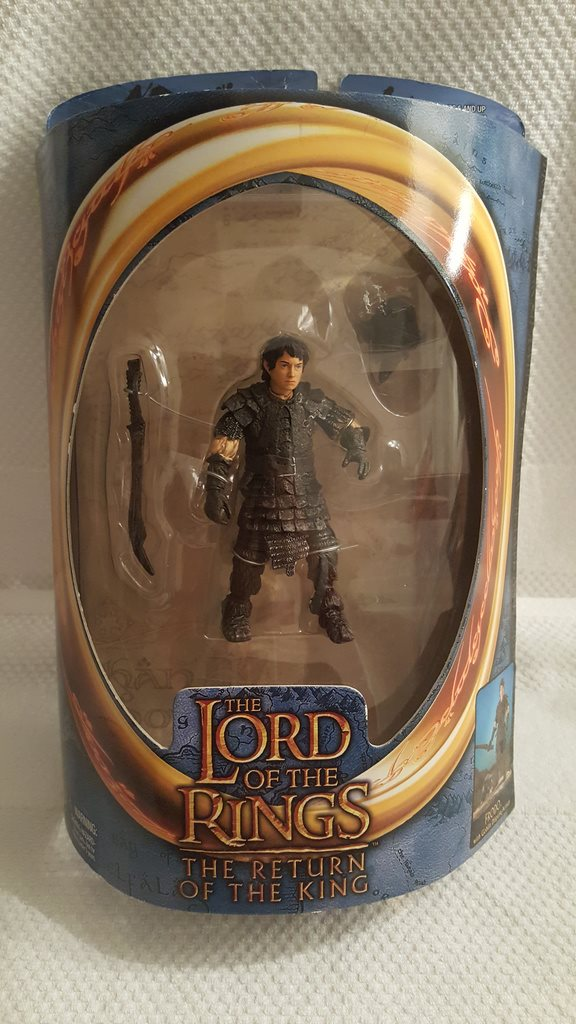 Frodo Samlarfigur ToyBiz (Lord Of The Rings - Return Of The King) Obruten förpac