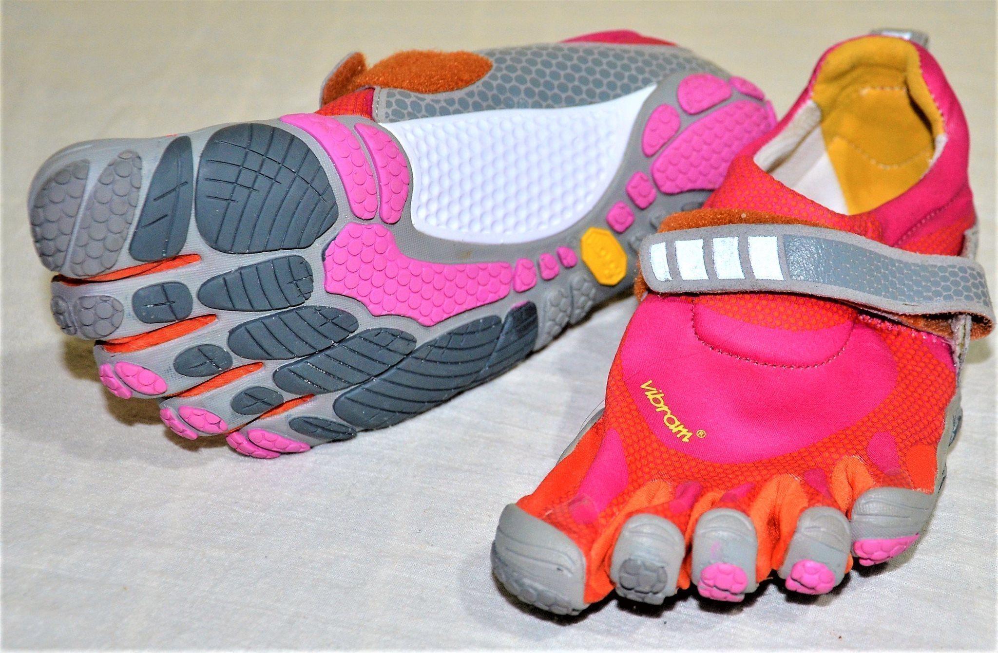 check out 21d21 bb2db Vibram FiveFingers Bikila W343 Minimalist Barefoot Shoes Size 36 Pink Orange