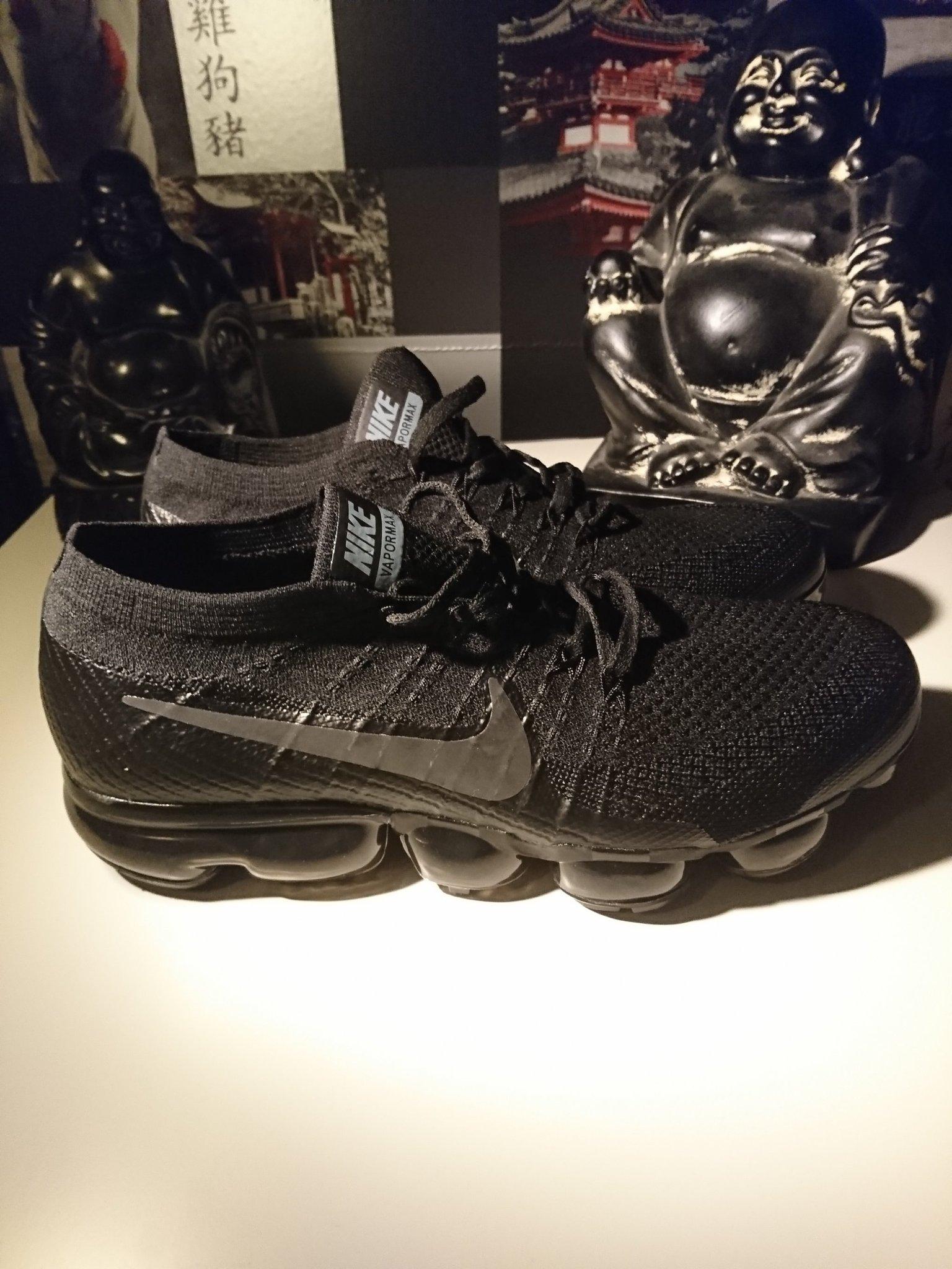 Nike Vapormax SvartSvartGrå 849558 007  