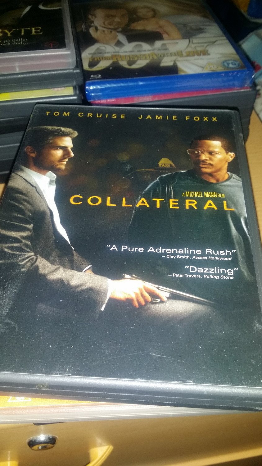 Collateral - Tom Cruise - 2 discutgåva