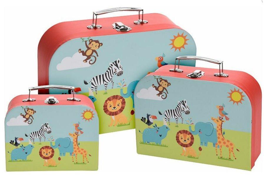 Set av 3 barn resväskor m djur bilder -.. (305018436) ᐈ Min.Vara på ... b06d27972a3e1