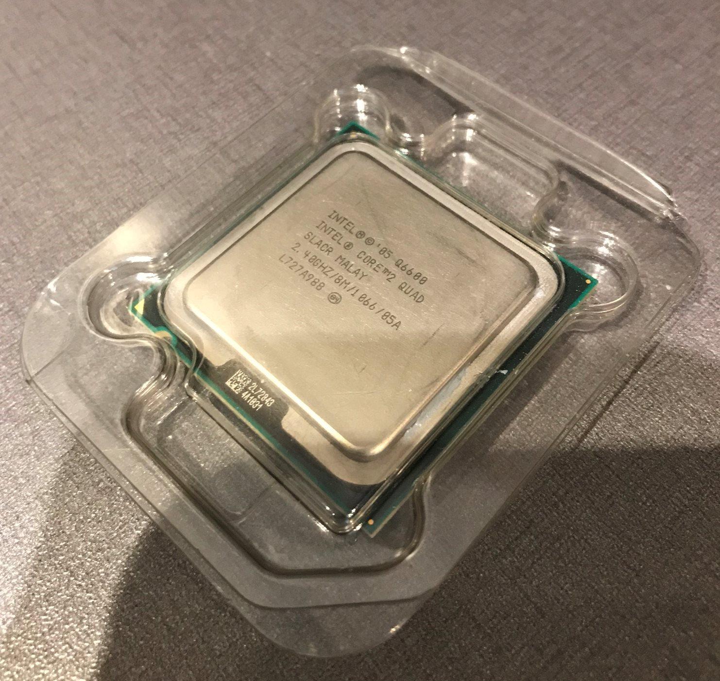 Cpu Core2quad Q6600 Fr Socket 775 Obs Qua 317445305 Kp P Processor Core 2 Quad Med Intels Originalkylare