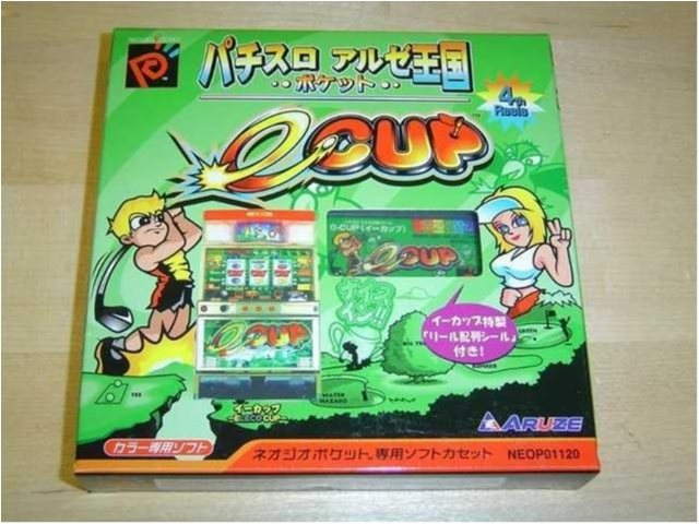 SLOT MASHINE GOLF NEO GEO POCKET COLOR *NYTT*