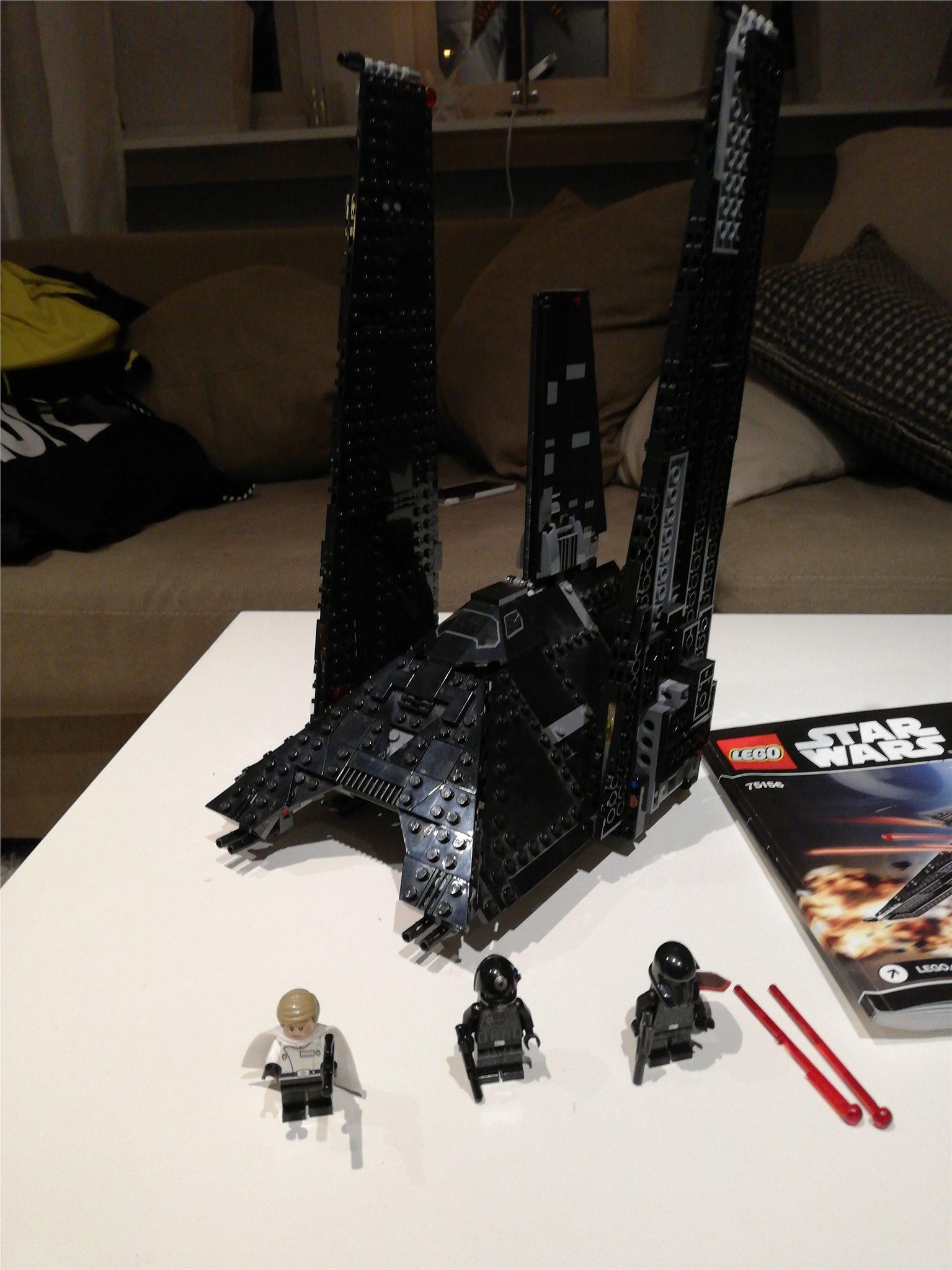 Lego Star wars 75156 Krennics imperial chuttle.