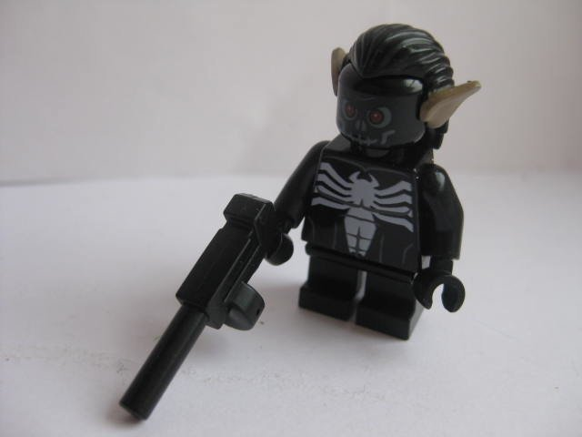 Lego - Batman - Figur spider black short Bat 22