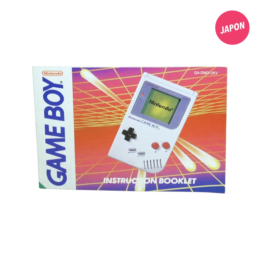 Gameboy Instruction Booklet (Manual / UKV)