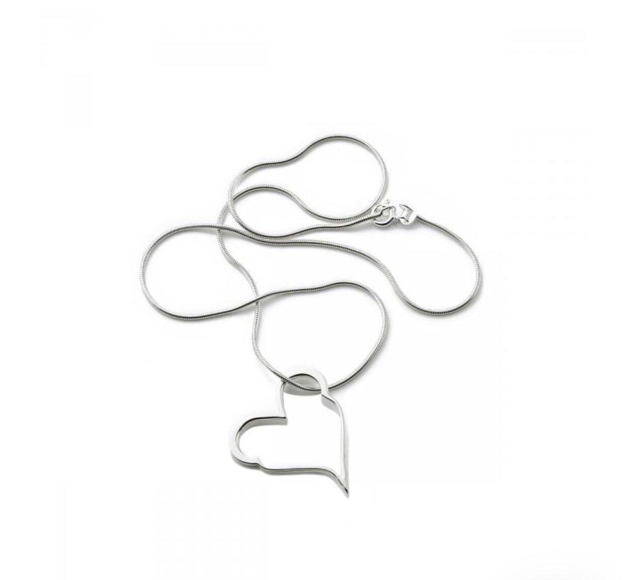 efva attling crazy heart halsband