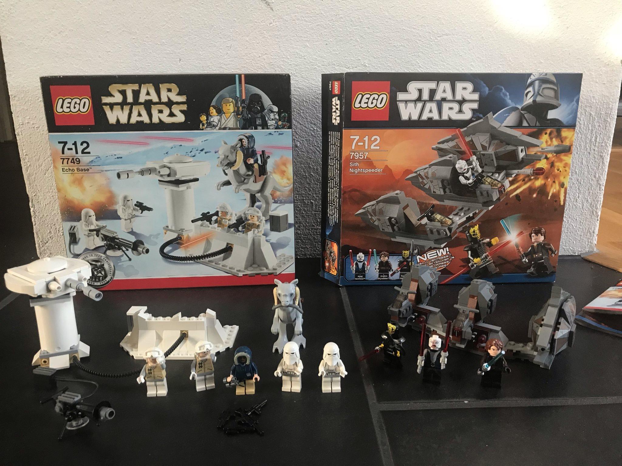 Lego Lego Lego Star Wars 7749 och 7957 d6fb6c