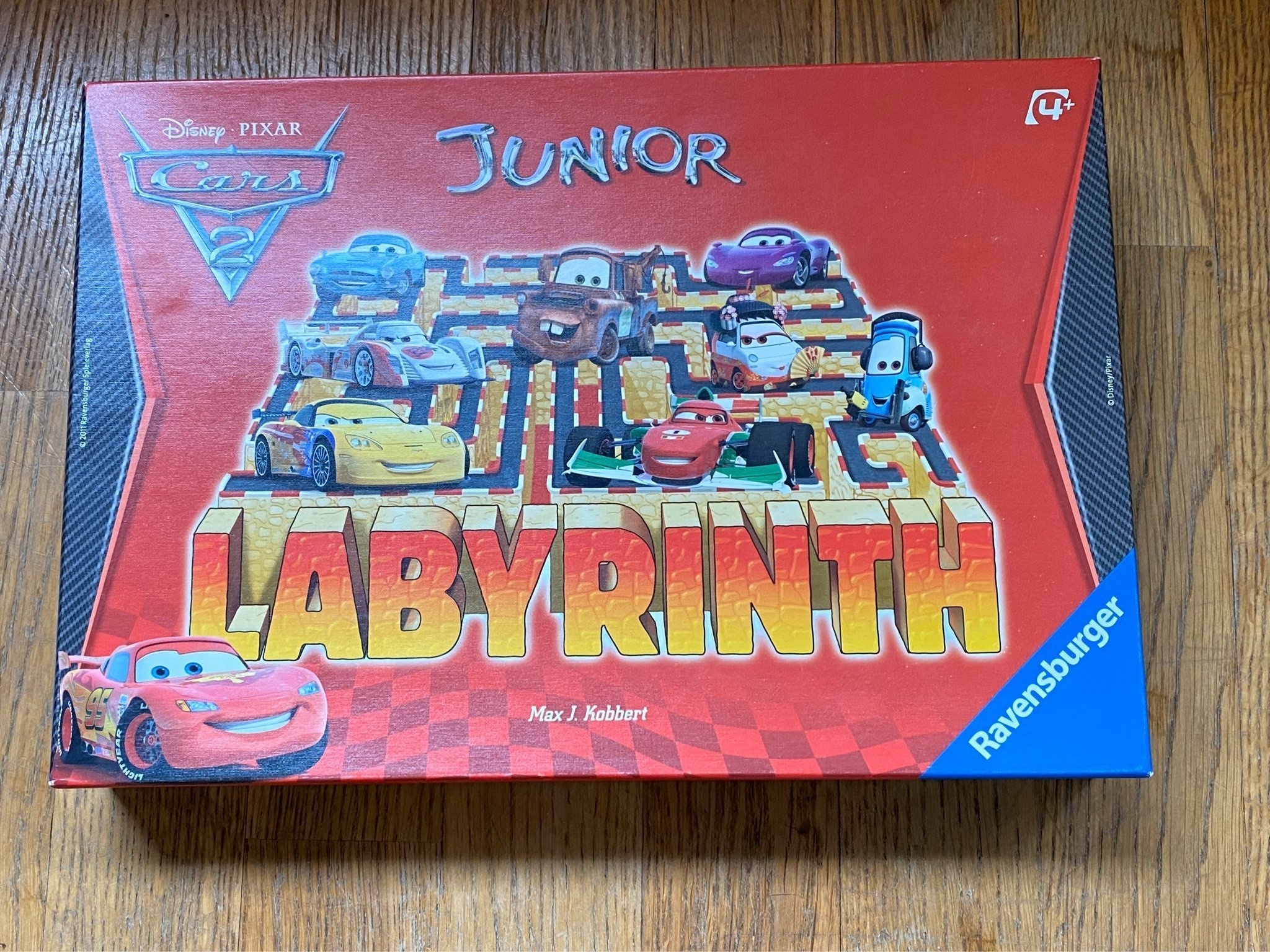 Labyrinth Junior Cars Disney Pixar