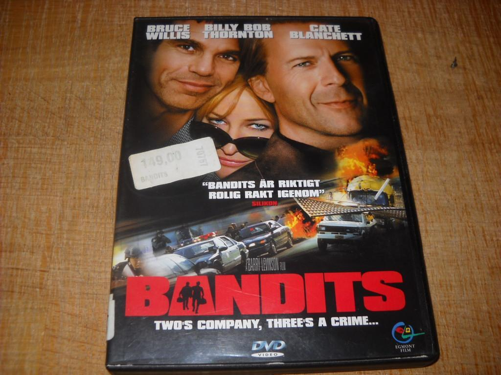 "Bandits ""Bruce Willis, Billy Bob Thornton, Cate Blanchett"""