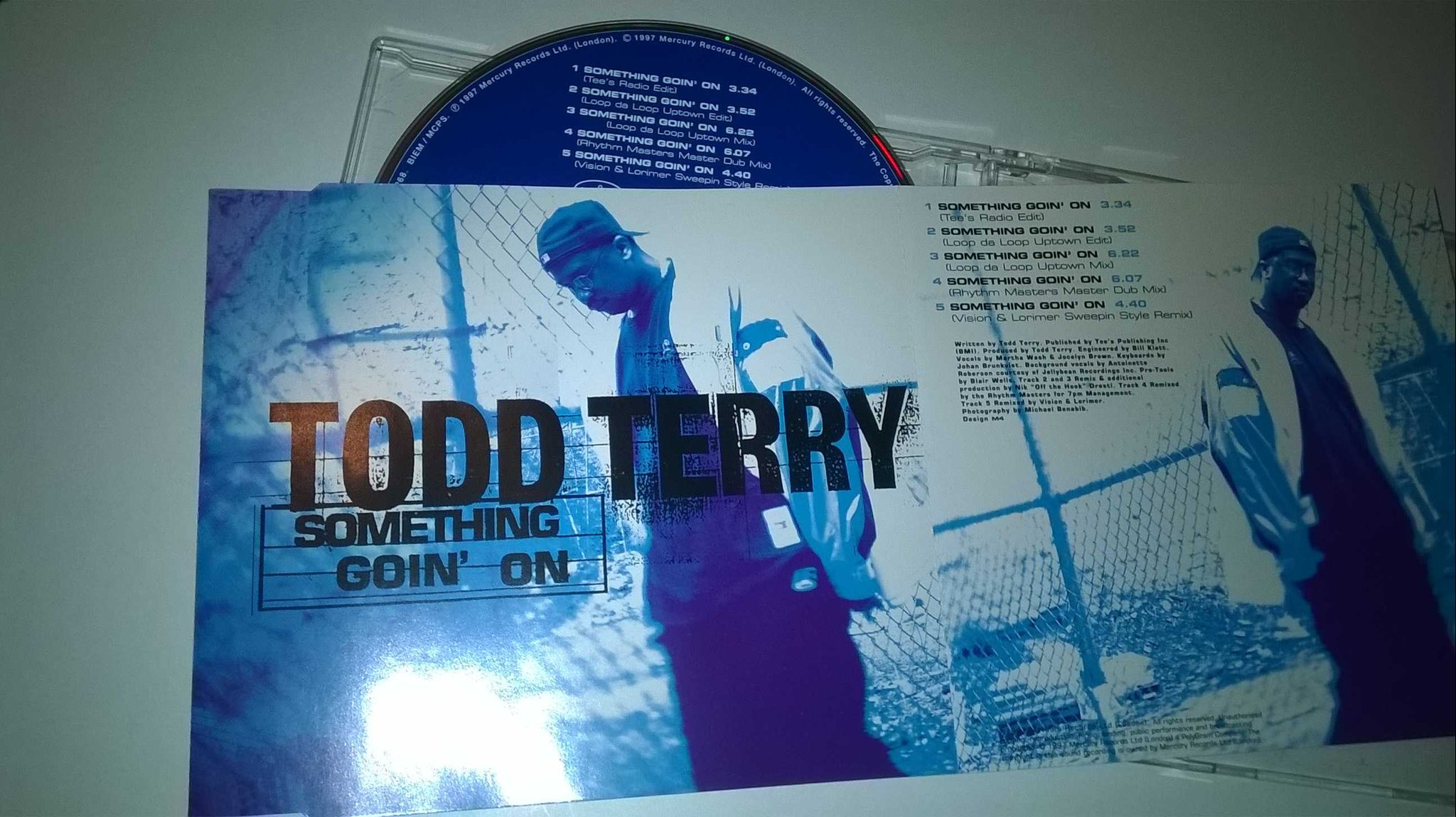 Todd Terry - Something Goin' On, CD, Maxi-Single