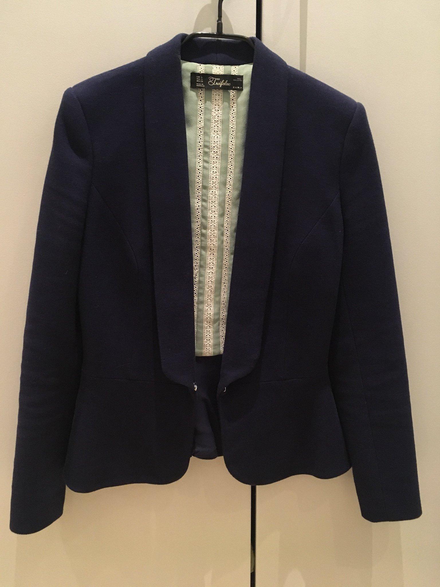 e3fbf85f22e8 Kavaj från Zara, Strl S (349339908) ᐈ Köp på Tradera