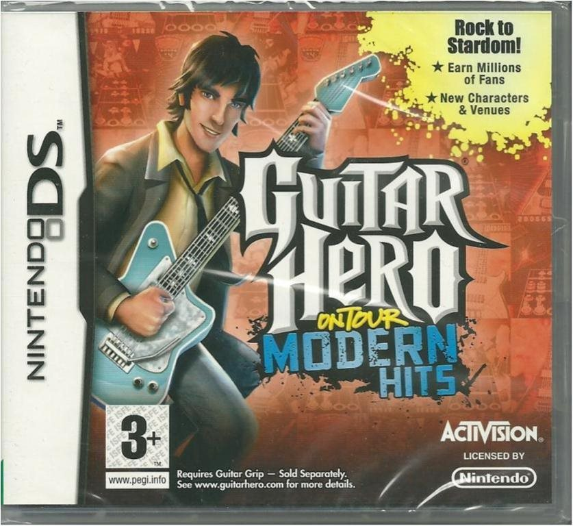 Guitar Hero on Tour - Modern hits  -Nytt & inplastat