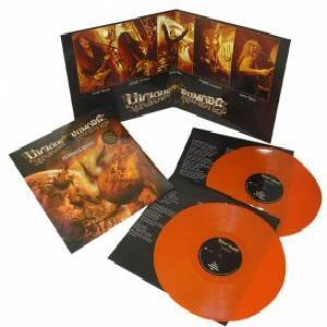 Vicious Rumors -Razorback killers DLP orange vinyl gatefold