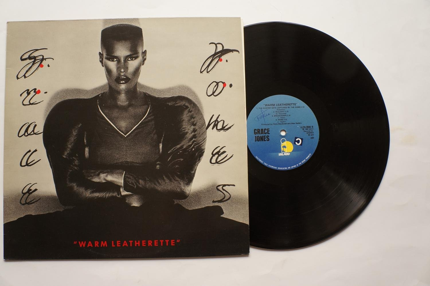 ** Grace Jones ?– Warm Leatherette **