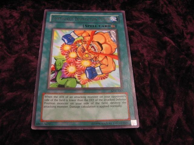 YU-GI-OH CONTINOUS DESTRUCTION PUNCH MFC-085