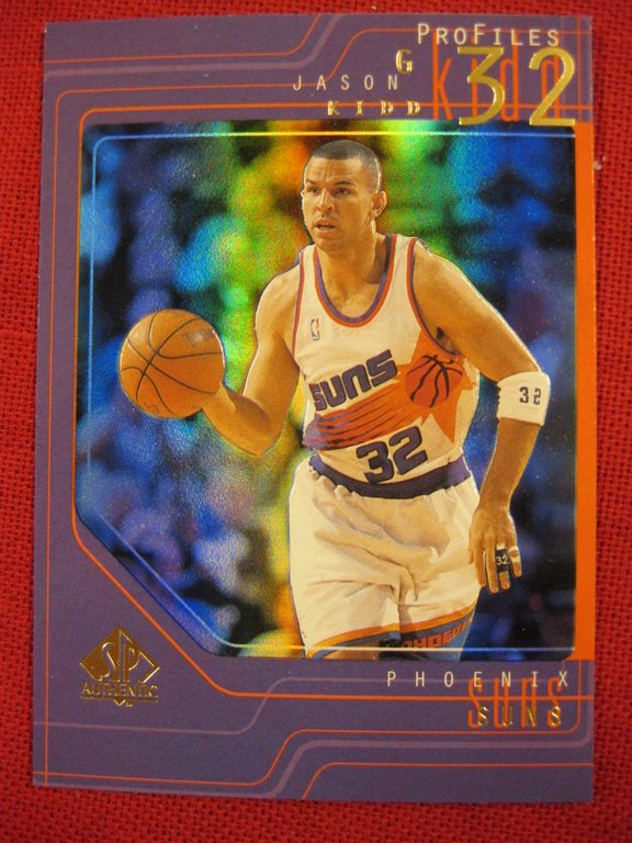 JASON KIDD - PROFILES - 1997-98 SP AUTHENTIC - PHOENIX SUNS - BASKET