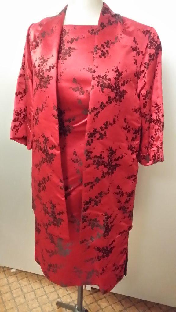 df03de921f35 klänning + jacka + sjal Kina Vintage (278383333) ᐈ Köp på Tradera