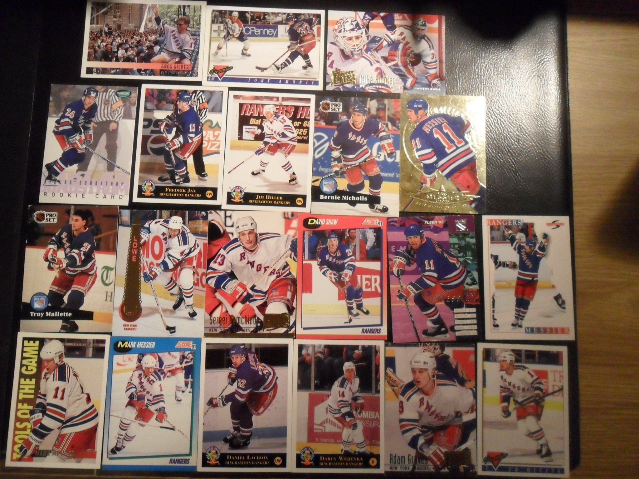 20st Hockeykort New York Rangers