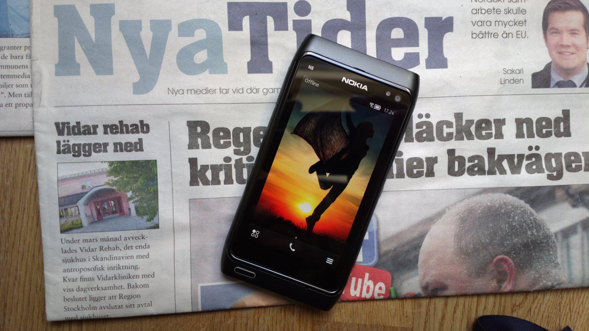 NOKIA N8 Som Ny Xenon flash FM-Radio FM-sändare   (357119003