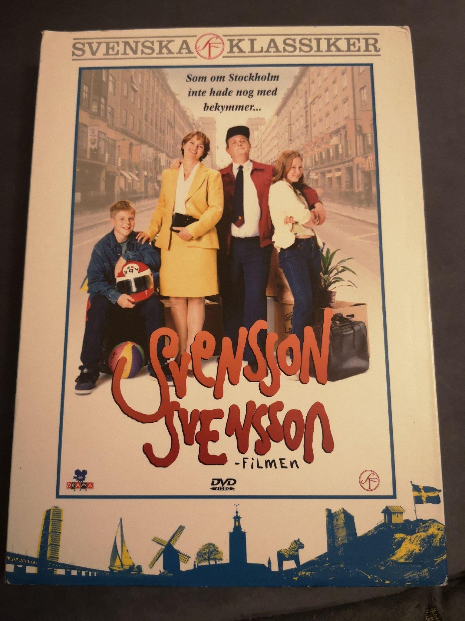 Svensson dvd (449507285) köp på tradera