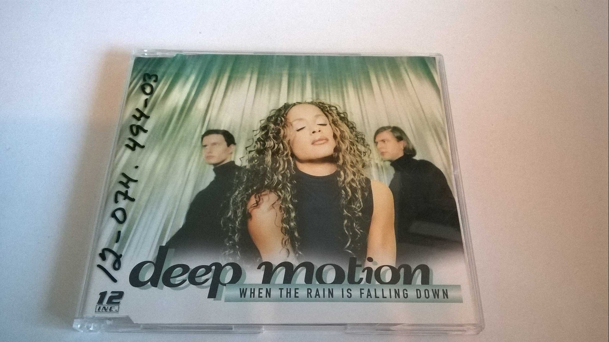 Deep Motion - When The Rain Is Falling Down, CD